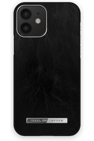 Ideal of sweden Atelier Case iPhone 12 Glossy Black Silver