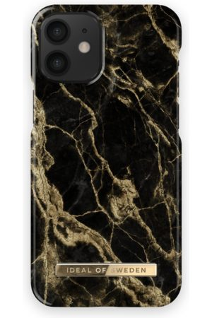 Ideal of sweden Mobil Covers - Fashion Case iPhone 12 Mini Golden Smoke Marble
