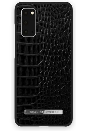 Ideal of sweden Atelier Case Galaxy S20 Neo Noir Croco Silver