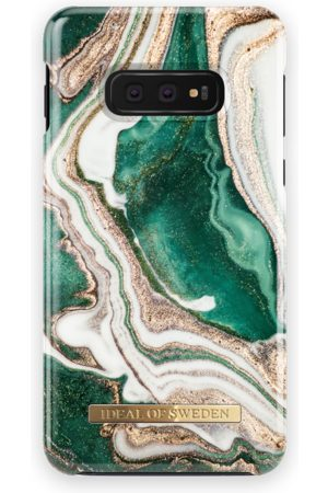 Ideal of sweden Mobil Covers - Fashion Case Galaxy S10E Golden Jade Marble
