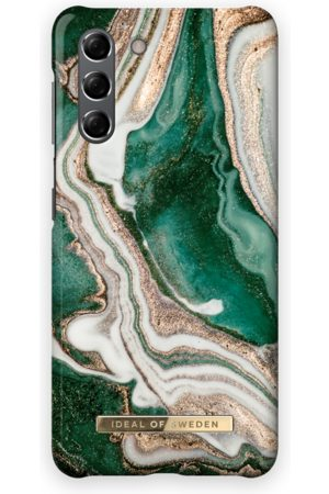 Ideal of sweden Mobil Covers - Fashion Case Galaxy S21 Golden Jade Marble