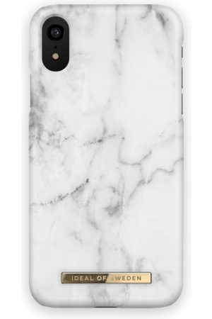 Ideal of sweden Fashion Case iPhone XR White Marble