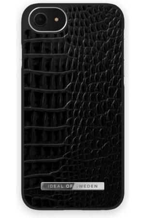 Ideal of sweden Atelier Case iPhone 8 Neo Noir Croco Silver