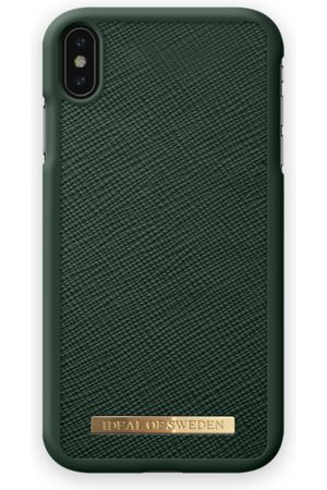 Ideal of sweden Saffiano Case iPhone XS Max Green