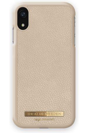 Ideal of sweden Pebbled Case Negin iPhone XR Beige