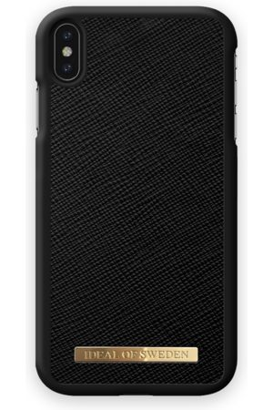Ideal of sweden Saffiano Case iPhone XS Max Black
