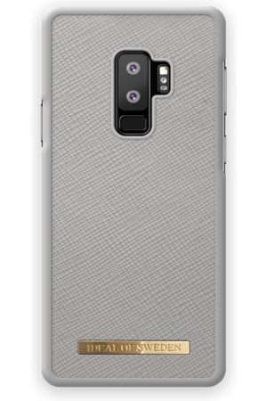 Ideal of sweden Saffiano Case Galaxy S9 Plus Light Grey