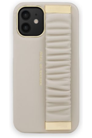 Ideal of sweden Statement Case iPhone 12 Mini Ruffle Cream Top-Handle