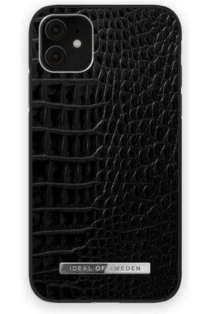 Ideal of sweden Atelier Case iPhone 11 Neo Noir Croco Silver