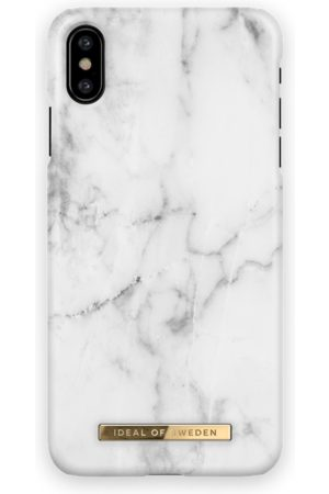 Ideal of sweden Fashion Case iPhone X White Marble