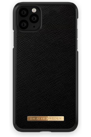 Ideal of sweden Mobil Covers - Saffiano Case iPhone 11 Pro Max Black