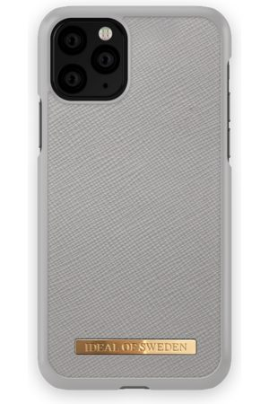 Ideal of sweden Mobil Covers - Saffiano Case iPhone 11 Pro Light Grey