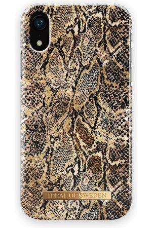 Ideal of sweden Mobil Covers - Fashion Case iPhone XR Golden Gecko