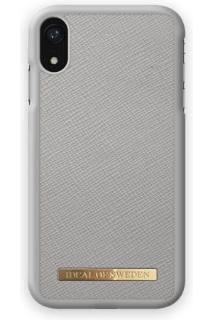 Ideal of sweden Saffiano Case iPhone XR Light Grey