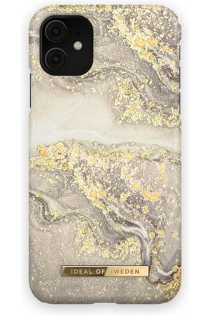 Ideal of sweden Mobil Covers - Fashion Case iPhone 11 Sparkle Greige Marble