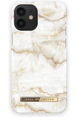Ideal of sweden Kvinder Mobil Covers - Fashion Case iPhone 12 Mini Golden Pearl Marble