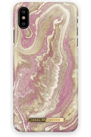 Ideal of sweden Fashion Case iPhone X Golden Blush Marble