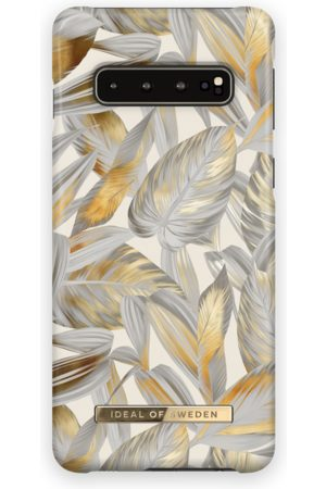 Ideal of sweden Fashion Case Galaxy S10 Platinum Leaves