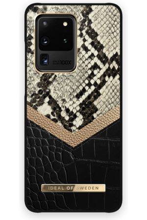 Ideal of sweden Kvinder Mobil Covers - Atelier Case GALAXY S20 Ultra Midnight Python