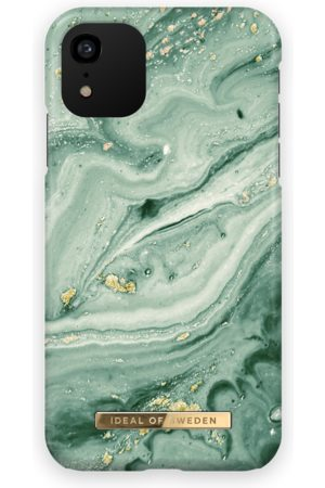 Ideal of sweden Fashion Case iPhone XR Mint Swirl Marble