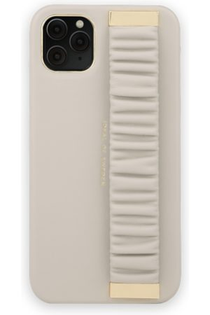 Ideal of sweden Mobil Covers - Statement Case iPhone 11 Pro Max Ruffle Cream Top-Handle