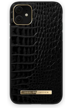 Ideal of sweden Mænd Mobil Covers - Atelier Case iPhone 11 Neo Noir Croco
