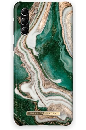 Ideal of sweden Mobil Covers - Fashion Case Galaxy S21 Plus Golden Jade Marble