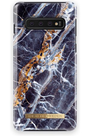 Ideal of sweden Mobil Covers - Fashion Case Galaxy S10 Midnight Blue Marble