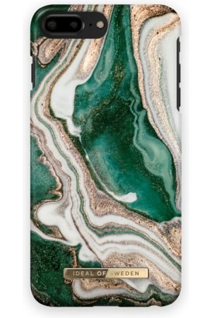 Ideal of sweden Mobil Covers - Fashion Case iPhone 8 Plus Golden Jade Marble