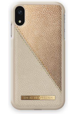 Ideal of sweden Fashion Case LH iPhone XR Golden Pebbled