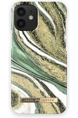Ideal of sweden Fashion Case iPhone 12 Mini Cosmic Green Swirl