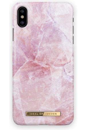 Ideal of sweden Kvinder Mobil Covers - Fashion Case iPhone X Pilion Pink Marble