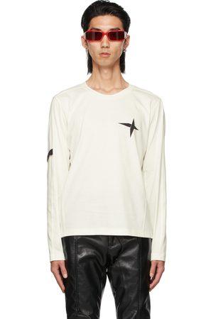 ADYAR SSENSE Exclusive White Armband Long Sleeve T-Shirt