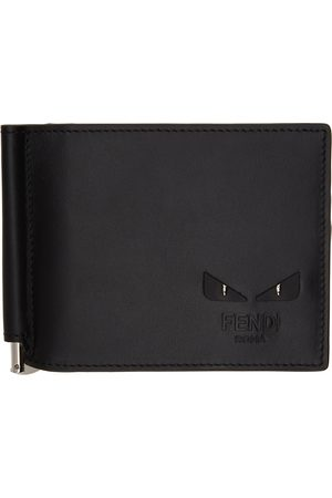 Fendi Black Bag Bugs Bifold Wallet