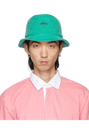 Noah NYC Green Crusher Bucket Hat