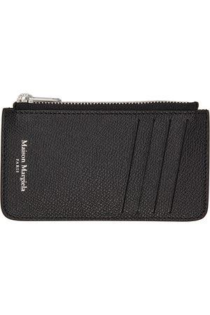 Maison Margiela Black Zip Card Holder
