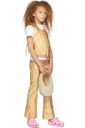 Charlotte Knowles Tanktoppe - SSENSE Exclusive Kids Beige Halcyon Tank Top