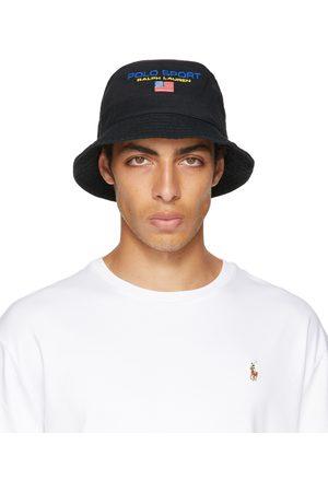 Polo Ralph Lauren Black 'Polo Sport' Chino Bucket Hat