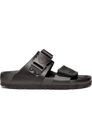 Rick Owens Black Birkenstock Edition Rotterdam Sandals