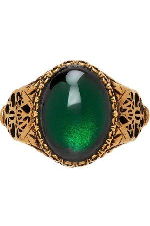 Alexander McQueen Kvinder Ringe - Gold Seal Signature Ring