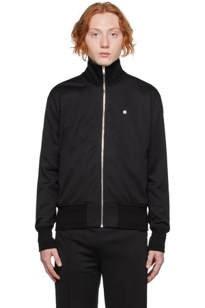 Givenchy Black Zip-Up Track Jacket