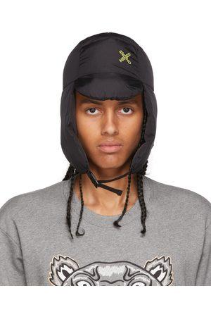 Kenzo Mænd Sportsudstyr - Black Sport Flap Hat