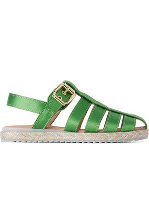 Marni Sandaler - Kids Green Maritime Sandals