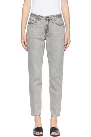 Frame Grey 'Le Nouveau Straight' Jeans