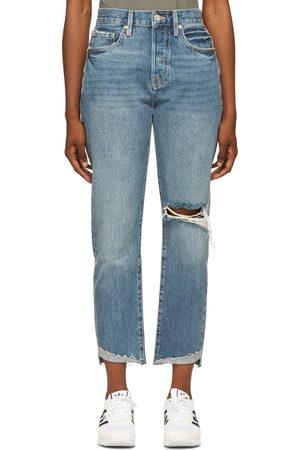 Frame Blue 'Le Original' Front Cuff Jeans