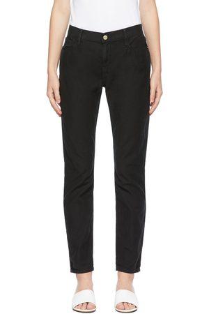 Frame Kvinder Jeans - Black 'Le Garçon' Jeans