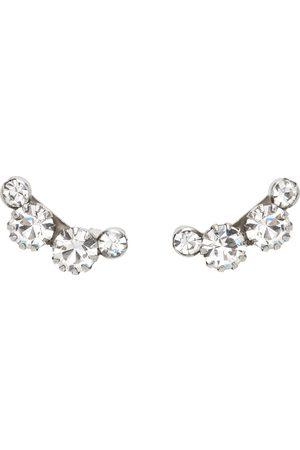 Isabel Marant Silver A Wild Shore Stud Earrings