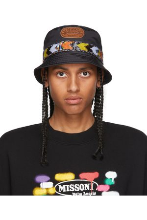 Palm Angels Black & Multicolor Missoni Edition Heritage Bucket Hat