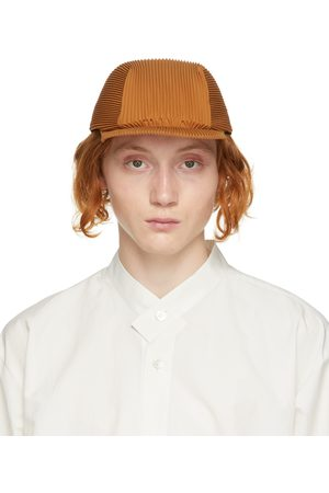 HOMME PLISSÉ ISSEY MIYAKE Mænd Kasketter - Tan Pleated Cap