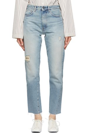 Totême Blue Twisted Seam Jeans